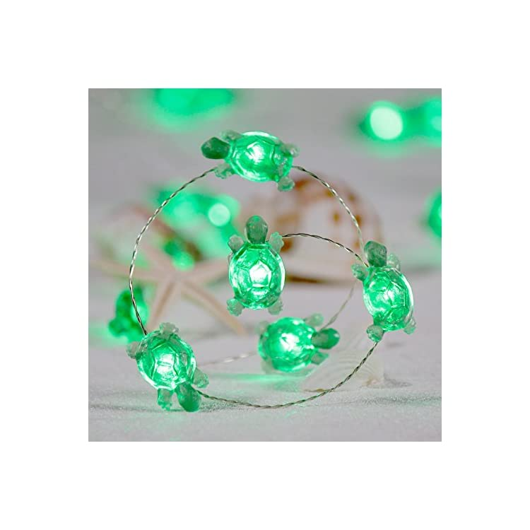 Turtle-String-Lights,-Summer-Decorative-LED-Silver-Wire-10-ft-40-LEDs-with-Remote-for-Indoor,-Covered-Outdoor-Beach-Party-Decorations,-Tent-Wedding-Holiday,-Birthday-Gift,-Bedroom