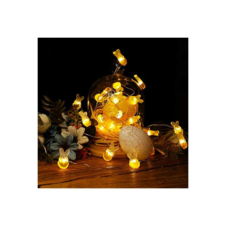 Easter-Rabbit-String-Light-Bunny-Decoration-Light-40-LEDs-Night-Light-13-Feet-Cute-Rabbit-String-Light-Battery-Operated-Fairy-Light-for-Bedroom-Party-Indoor-Birthday-Wedding-Decor