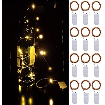 12-Pack-LED-String-Lights-Copper-Wire-Lights,-Battery-Operated-6.6ft(2M)-20-LEDs-Starry-Fairy-Lights-Rope-Lights-for-Seasonal-Decoration-Home-Holiday-Wedding-Party-(Warm-White)