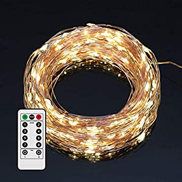 USB-Powered-Christmas-Fairy-Led-String-Lights-for-Christmas-Tree-Decoration,-Festive-Atmosphere,Children's-Room,-Wedding-Party,Patio-Window-(33,-Warm-Light-Copper-Wire)