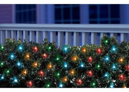 150-Light-Net-Style-Holiday-Light---Multicolor-Lights,-Green-Wire---String-a-Long---Traditional-lighting