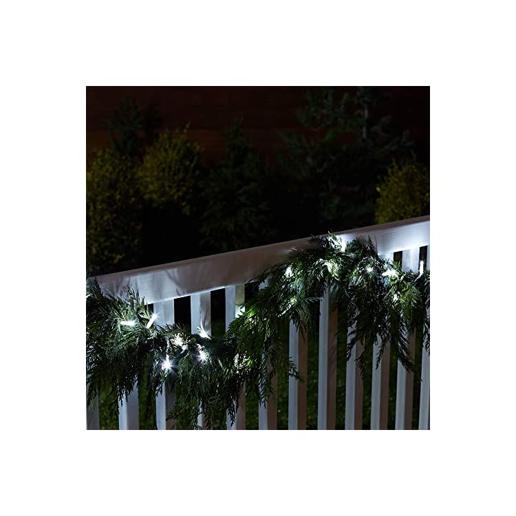 100-LED-Commercial-Grade-Christmas-String-Lights-for-Holiday,-Indoor/Outdoor-Use,-White-Rope,-Bright-White-LED,-33-Foot,-2-Pack