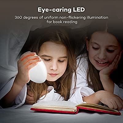 VA-HP008-Night-Lights-for-Kids,-LED-Nursery-Lamp-with-Free-Stickers,-Safe-ABS+PC,-Adjustable-Brightness,-80-Hours-Runtime,-Cool-Warm-White