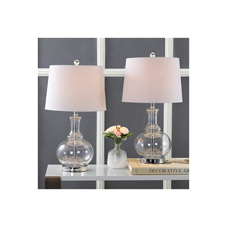 JYL1068B-SET2-Lavelle-25'-Glass-LED-Table-Lamp-Contemporary,Transition