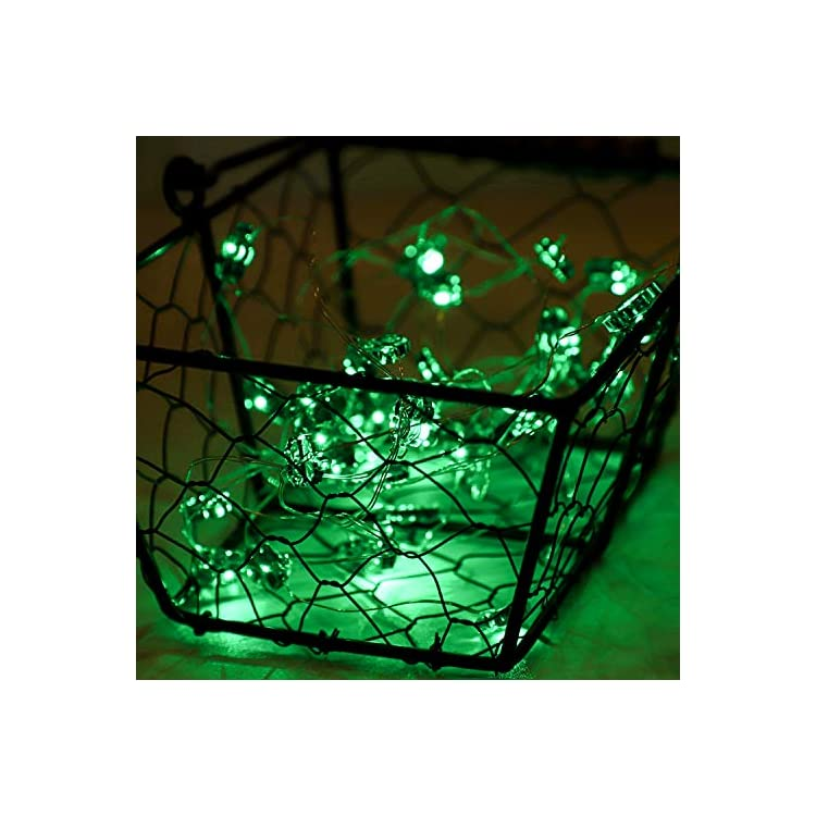 13.1-Feet-40-St.-Patrick's-Day-Shamrocks-String-Lights-Battery-Operated-with-8-Flash-Modes,-Remote-and-Timer-for-St.-Patrick's-Day-Party,-Christmas,-Birthday,-Patio,-DIY-Home-Party-Decor