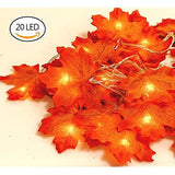 GiBot-Thanksgiving-Decorations-Lights-Fall-Garlands,-20-LED-7.2-Feet-Battery-Powered-Maple-Leaf-Lights-Harvest-Thanksgiving-Decor-Halloween-String-Lights-for-Indoor-Outdoor-Wedding-Garden
