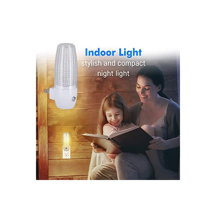 LED-Plug-in-Night-Light-with-Auto-Dusk-to-Dawn-Sensor,-Warm-White,-[2-Pack],-Indoor-Light-Bathroom,-Hallway,-Stairs,-Pantry,-Laundry-Room-and-Walk-in-Closet-Compact-and-Energy-Efficient