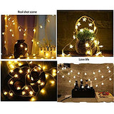 Twinkle-Star-String-Lights,-40pcs-LED-Warm-White-LED-Star-String-Lights-USB,-Indoor-Battery-Operated-LED-Five-Pointed-Star-String-Lights-for-Christmas-Party-Patio-Garden-Bedroom-Wedding-Decor