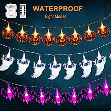 3-Pack-Halloween-Fairy-String-Lights-Waterproof-Battery-Operated-Halloween-Decor-Lights-Orange-Pumpkins-Bats-Ghosts-20-LEDs-Each-for-Halloween-Party-Decorations-Outdoor-Indoor-with-Remote