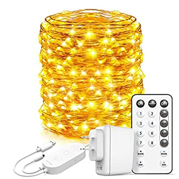 Led-Fairy-Lights-Bedroom,-66-Feet-Fairy-Lights-Plug-in,-200-LEDs-Remote-Control-Fairy-Lights-with-8-Scence-Modes-4-Timing-Options-USB-Fairy-Lights-for-Indoor-Outdoor-Decoration-Warm-White