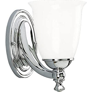 P3027-15-Traditional-One-Light-Bath-from-Victorian-Collection-Finish,-5-5/8-Inch-Width-x-8-1/2-Inch-Height,-Polished-Chrome