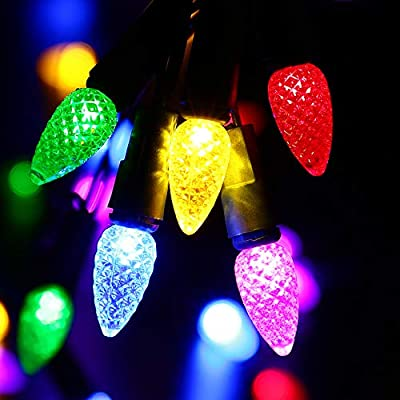 C3-Bulbs-Christmas-String-Lights-with-Timer---50-LED-16.4ft-Battery-String-Lights-for-Outdoor-and-Indoor,-Fairy-Lighting-for-Garden,-Yard,-Garland,-House,-Xmas-Tree,-Christmas-Decorations