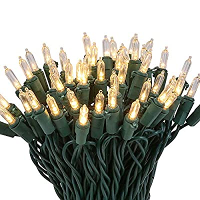 LED-Mini-Christmas-Tree-Light-100-Count-Bulbs-Bright-White-Mini-String-Light-Green-Wire