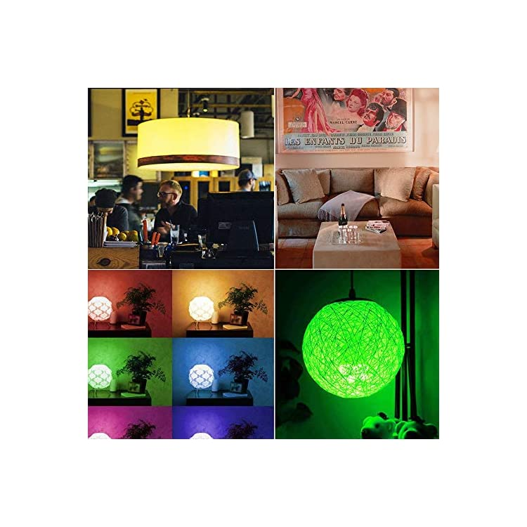 E26-LED-Bulb-Dimmable-Medium-Base-RGB+Daylight-LED-Bulb,-Color-Changing-Light-Bulb-Dual-Memory-with-Remote-RGB-LED-Lights-3W-12-Color-Choices-A50-Decorative-Party-Lights-Bar-Ambient-Lighting
