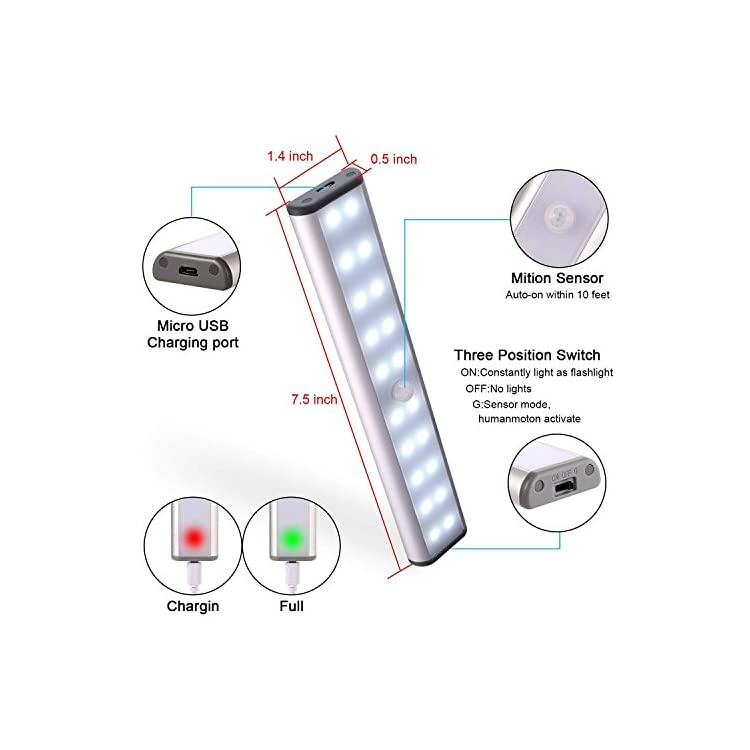 20LED-Closet-Light-with-Motion-Sensor,-Stick-on-Anywhere-Portable-Little-Lights-Build-in-Rechargeable-Battery-Magnetic-Tap-Lights-for-Closet,-Cabinet