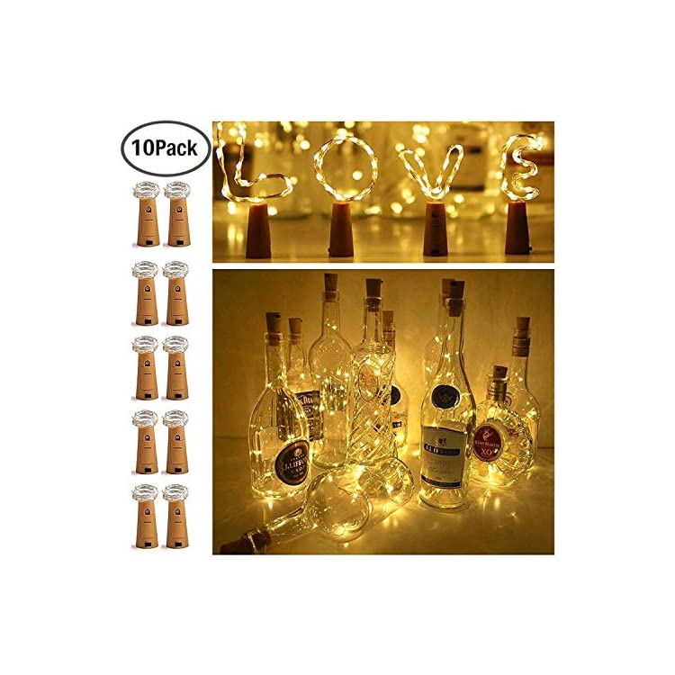 10-Pack-15-LED-Wine-Bottle-Cork-Lights,-Fairy-Mini-String-Lights-Copper-Wire,-Battery-Operated-Starry-Lights-for-DIY,-Christmas,-Halloween,-Wedding,-Party,-Indoor&Outdoor-(Warm-White)