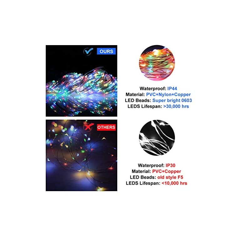 Curtain-Lights-Voice-Activated-Rainbow-Twinkle-String-Lights-300-LED-Fairy-Window-Decorative-Dimmable-Christmas-Lights-USB-Powered-4-Sound-Control-&-8-Lighting-Modes-IP44-Waterproof-Multi-Color