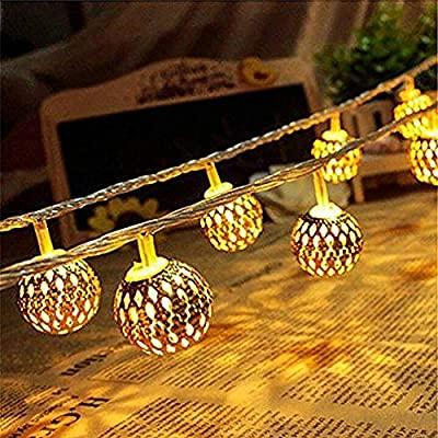 Moroccan-Globe-String-Lights-6.6Ft-20LEDs-8-Modes-Fairy-Decorative-Christmas-String-Lights,-for-Party-Patio-Wedding-Bedroom-Garden-Fence-Gazebo-Ceiling-Living-Room-Indoor-Outdoor-Decor,Warm-White