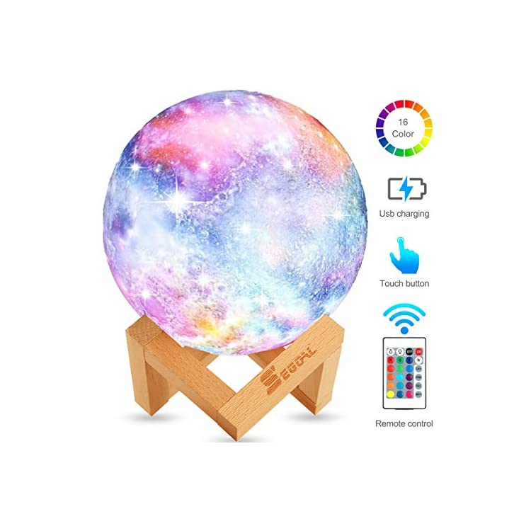 Moon-Lamp-Moon-Light-Kids-Night-Light-Galaxy-Lamp-16-Colors-LED-5.9-Inch-3D-Star-Lamp-with-Wood-Stand,-Touch-&-Remote-Control-&-USB-Rechargeable-Baby-Light-Perfect-Gift-for-Girls-Lover-Birthday