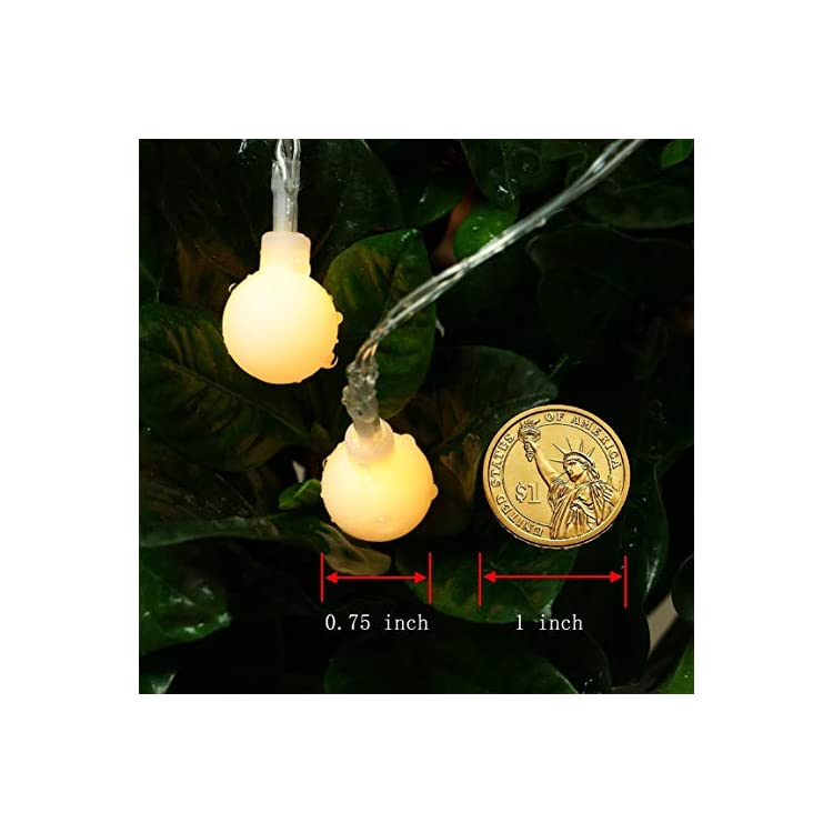 Color-Changing-Indoor-String-Lights,26ft-70-LED-8-Function-Warm-White-Multi-Color-Globe-String-Lights,Dimmable-Battery-Operated-Fairy-Light-with-Timer&Remote-for-Christmas-Tree,Party,Bedroom