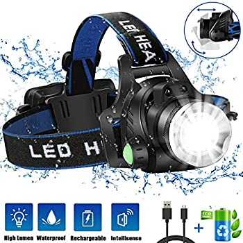 Headlamp-Flashlight,-USB-Rechargeable-Led-Head-Lamp,-IPX4-Waterproof-T