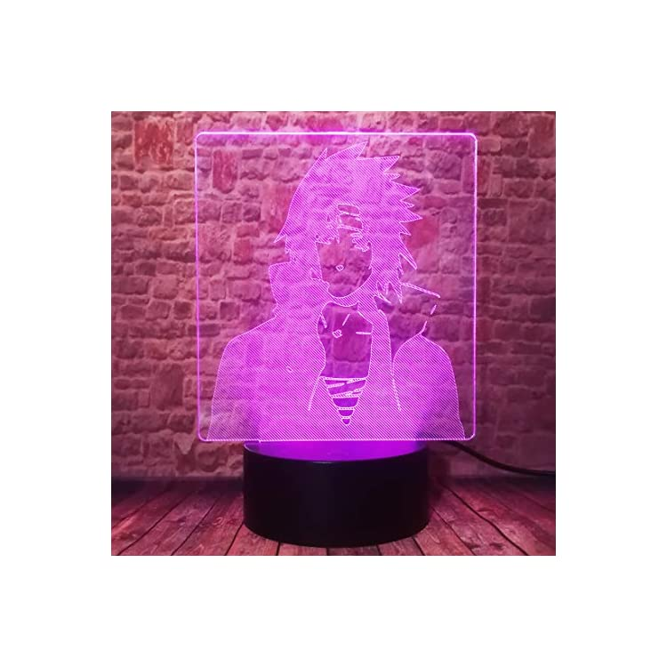 Japanese-Anime-Naruto-Sasuke-Uchiha-Itachi-Figurines-Lamp-3D-RGB-Smart-Touch-Switch-with-IR-Controller-7-Colors-Change-LED-Night-Light-Boys-Bedroom-Decor-Child-Xmas-Birthday-Holiday-Toys-Gifts