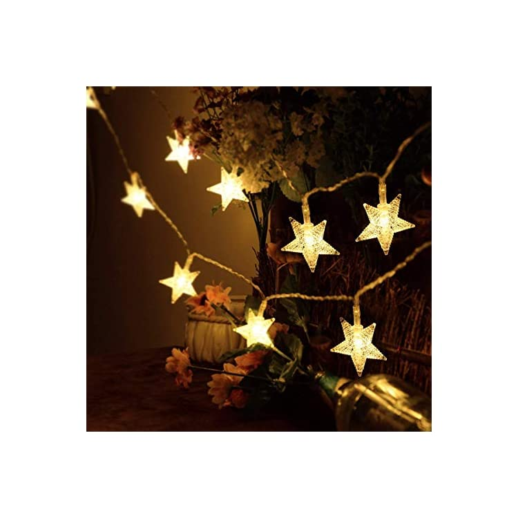 Star-String-Lights,-Battery-Operated-Fairy-Lights-17ft-50-LED-Christmas-Trees,Indoor,Outdoor,Wedding,New-Year,Patio,Garden-Decoration(Warm-White,2Pack)