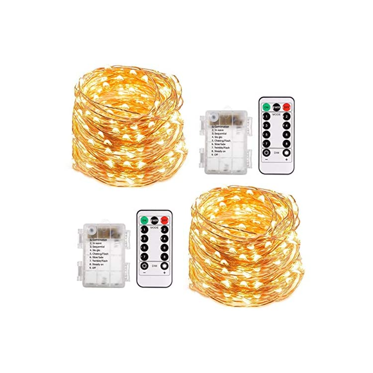String-Lights,-66ft-200-LED-Battery-Powered-Fairy-Lights,-8-Lighting-Modes,-Decorative-Warm-White-Lights-for-Bedroom,-Patio,-Garden,-Wedding-(2-Pack)