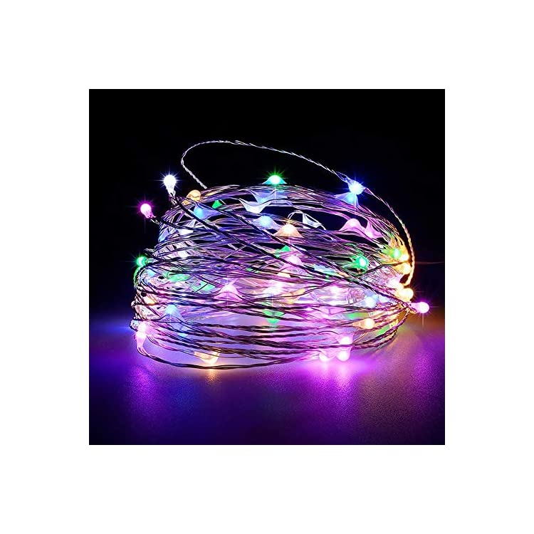 USB-LED-Fairy-String-Light,-1-Pack-Copper-Wire-Fairy-Lights-for-Indoor,-Bedroom-Festival-Christmas-Wedding-Party-Patio-Decorative-Window-with-USB-Interface-(33ft./10M,Multi-Colored)