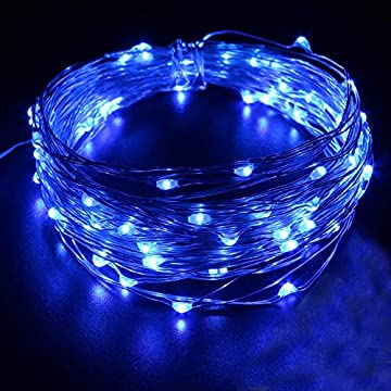 Blue-LED-String-Lights-USB-Plug-33Ft-100-LED-Fairy-Decorative-Lighting-Bedroom-Indoor-Outdoor-Party-Wedding-Birthday-Christmas-Holiday-Festival-Home-Decoration