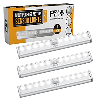 LED-Motion-Sensor-Night-Light,-Stick-On-Lights,-LED-Closet-Light-10-LED-Battery-Operated-Lights-[3-Pack]---Magnetic-Wireless-Motion-Sensor-Light-Strip-for-Closet,-Under-Cabinet,-Stairs
