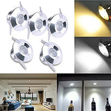 5-Pack---Mini-LED-Aluminum-Recessed-Spot-Downlight-Kit--3W-450lm-led-recessed-lighting-warmwhite-(2800-K)