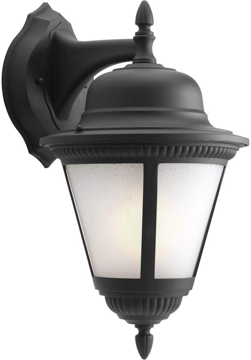 P5864-31WB-Traditional-One-Light-Wall-Lantern-from-Westport-Collection-in-Black-Finish