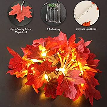 Fall-Decor-Home-Halloween-Thanksgiving-Decoration-Fall-Garland,-Maple-Leaves-String-Lights,-LED-Lights-Garland-Wreath-Indoor-Outdoor-Decor-Party-Halloween-Decor-Battery-Garland-(4-Pack)