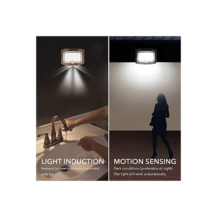 Wall-Lamp,-Aluminum-LED-Motion-Sensor-Sconce-Battery-Powered-Adjustable-Brightness,Stick-on-Anywhere