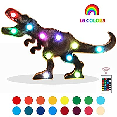 Dinosaur-Night-Lights-Dinosaur-Toys-for-Boys-Dinosaur-Party-Supply-16-Colors-Changing-with-Remote-Control-Dinosaur-Decorative-Marquee-Signs-Birthday-Gifts-for-Kids