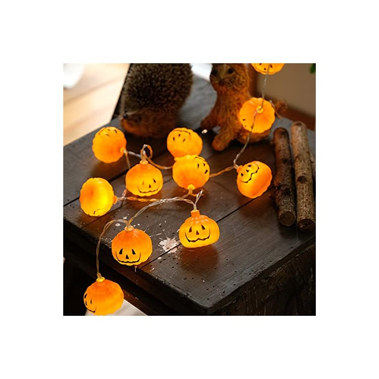 3m-30led/Pack-Halloween-Jack-O-Pumpkin-Lantern-LED-String-Lights,-Indoor-Used,-Great-for-Halloween-Celebration-(Battery-Operated)