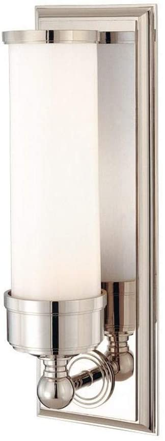 371-PN-Everett---One-Light-Wall-Sconce,-Polished-Nickel-Finish-with-Op