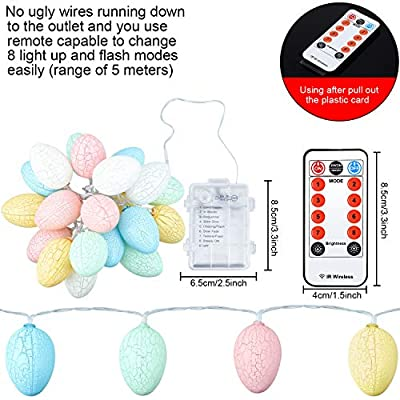 Easter-Egg-String-Light,-6.5-ft-20-Warm-LEDs,-Battery-Powered-with-8-Modes,-Remote-Control,-Bedroom-Nursery-Playroom-Shop-Light-Decor-for-Easter-Day,-Birthday