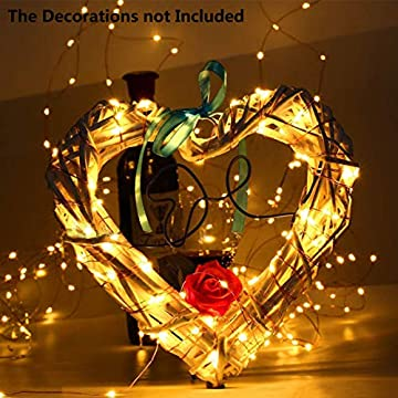 Fairy-String-Lights,-15-Pack-20-LED-Fairy-Lights-Battery-Operated-Copper-Wire-Lights-+-6-PCS-Extra-Replacement-Batteries-with-Starry-Jar-Lights-for-DIY-Party-Wedding-Decorations-(Warm-White)