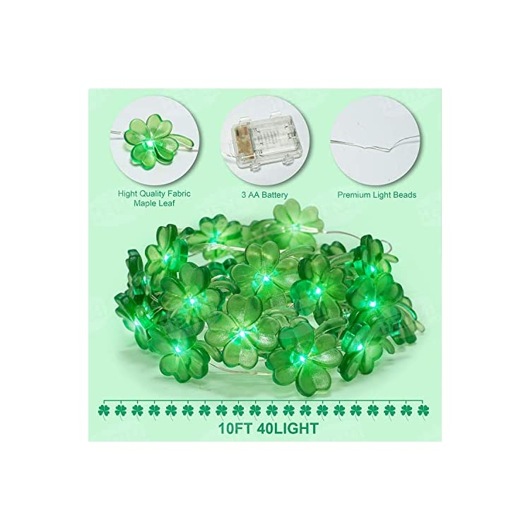 St.Patricks-Day-Decorations-LED-String-Lights,-Shamrock-String-Lights-Decorations-10ft-40-LED-with-Remote,-Novelty-Lights-Clover-String-Lights-for-Irish-Day-Party-Decor-Indoor-and-Outdoor-Decor