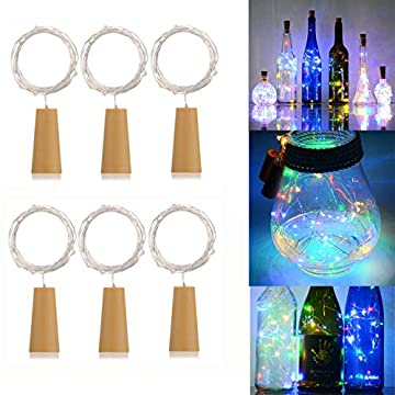6-Pack-20-LEDs-Spark-Wine-Bottle-Light,-Cork-Shape-Battery-Copper-Wire-String-Lights-for-Bottle-DIY,-Christmas,-Wedding-and-Party-Décor-(Colorful)