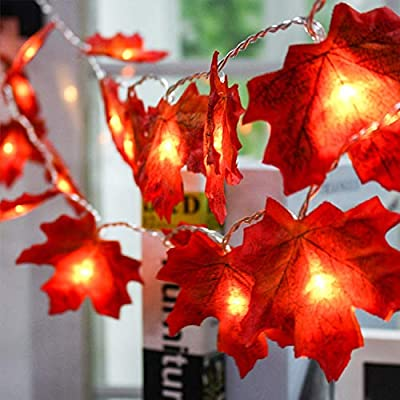 String-Lights-Maple-Leaf-Light,-40-LED-Fall-Maple-Leaf-Garland-20-Feet-Waterproof-Fall-Lights-3AA-Battery-Powered-Hanging-Light-Decorations-for-Party-Thanksgiving-Christmas(2-Pack)