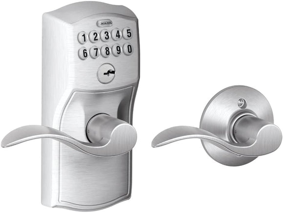 Schlage-FE575-CAM-626-Acc-Camelot-Keypad-Entry-with-Auto-Lock-and-Acce