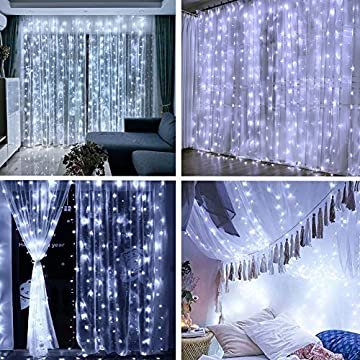 Curtain-String-Lights-192-LEDs-USB-Powered-Window-Curtain-Fairy-Lights-for-Bedroom-Wedding-Party-Christmas-Indoor-Outdoor-Decoration-with-Remote-Control-and-8-Modes-Cool-White
