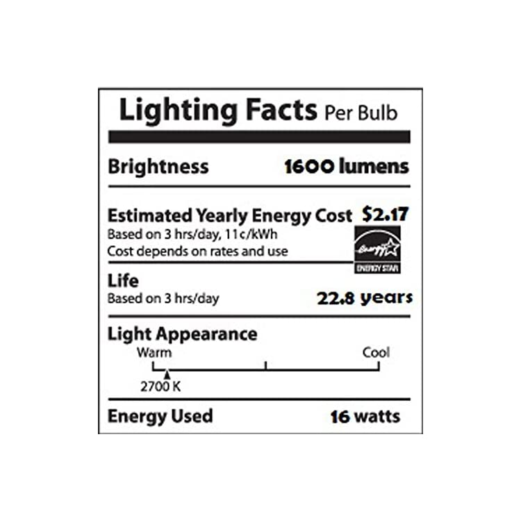 Dimmable-A21-Soft-White-Light-Bulb-with-Warm-Glow-Effect:-1600-Lumen,-2700-2200-Kelvin,-16-Watt-(100-Watt-Equivalent),-E26-Base,-Frosted,-3-Pack-(Old-Generation)