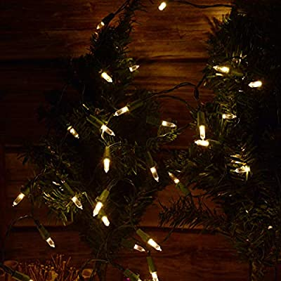 Christmas-Tree-Lights-50-Count-Battery-Powered-Christmas-Lights,-Warm-White-LED-String-Lights-for-Xmas-Mini-Tree-Wreath-Accommodation-Wedding-Party-Christmas-Novelty-Lighting-Decorations