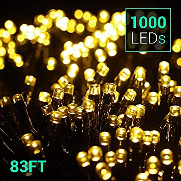 83Ft-1000-LEDs-String-Lights---Outdoor-&-Indoor-Waterproof-Christmas-Decoration-Lights-8-Modes-Holiday-Twinkle-Fairy-Lights-for-Home-Garden-Wedding-Party-Xmas-Tree,-UL588-Approved,-Warm-White