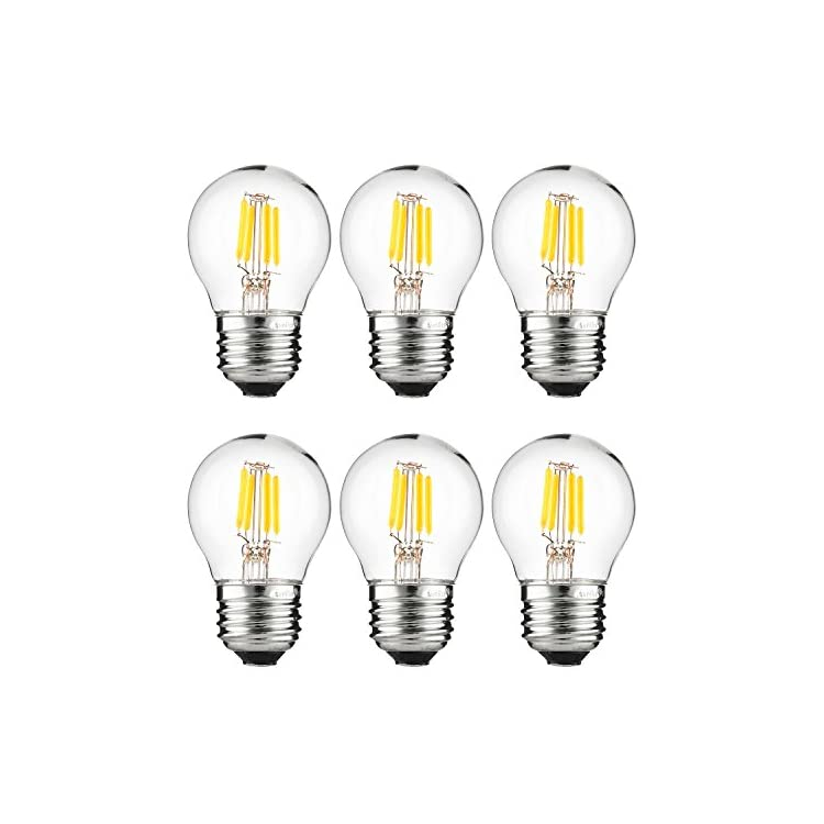 40962-G16-Globe-3-(40-Watt-Equivalent)-Clear-Dimmable-Light-Bulb,-6-Pa
