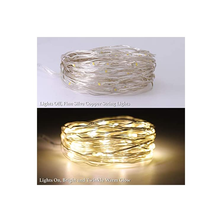 LED-String-Lights,-Decorative-Micro-Lights,-Copper-String-with-50-Bright-Warm-Lights,-Waterproof,-Battery-Powered,-2-Pack